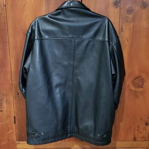 Roots Jackets & Coats - Roots Made In Canada Leather Jacket Womens Sz S/P